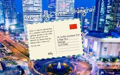 Postcard from China by Alasdair McKinnon